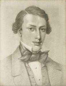 Сэмюэль Орчарт Битон карандашный рисунок Джулиана Портча, около 1853